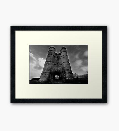 The Gate House - Donnington Castle Framed Print