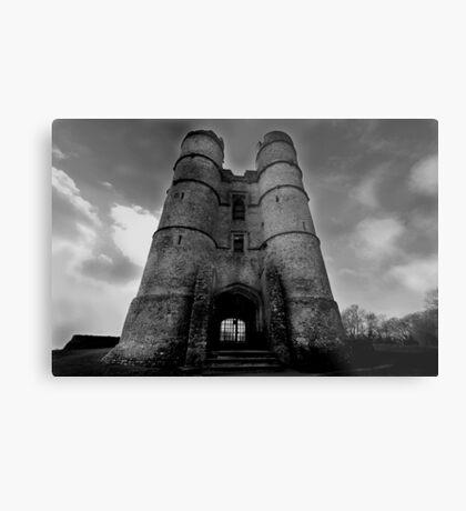 The Gate House - Donnington Castle Metal Print