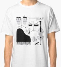 Instrumentos para tocar música salsa Camiseta clásica