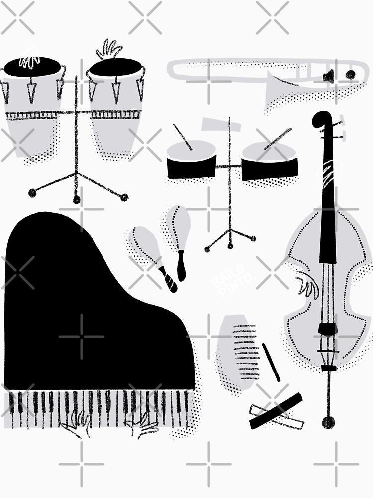 Instrumentos para tocar música salsa de bailopinto