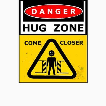 Danger - HUG ZONE! by MrMinty