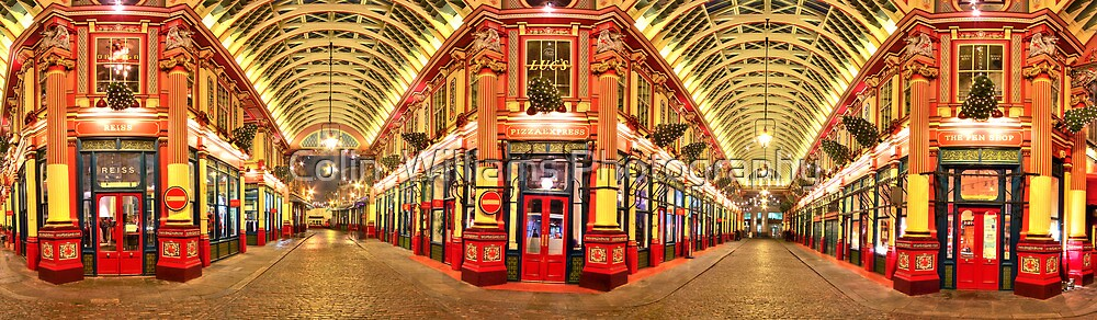 Reiss - Pizza Express - The Pen Shop - Leadenhall Market Series - London - HDR by Colin  Williams Photography