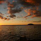 Sunset Lake Tooliorook Lismore vic by trishringe