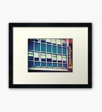Coffee Shop — New York Framed Print