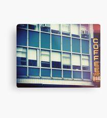Coffee Shop — New York Metal Print