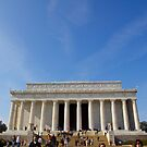 Lincoln Memorial, Washington DC by Ashlee Betteridge