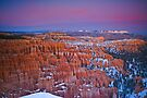 Bryce Canyon Sunset Jan 2011 by photosbyflood