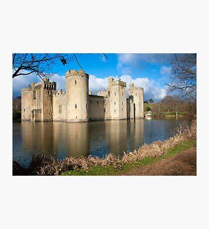 Bodium Castle: East Sussex, UK. Photographic Print