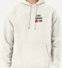 Stoic Domains - Com Pullover Hoodie