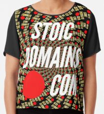 Stoic Domains - Com Chiffon Top