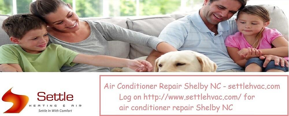 Air Conditioner Repair Shelby NC - www.settlehvac.com by Titleloans0