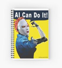 AI Can Do It Spiral Notebook
