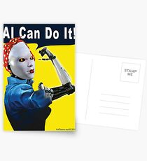 AI Can Do It Postcards