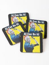 AI Can Do It Coasters