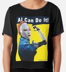 AI Can Do It Chiffon Top