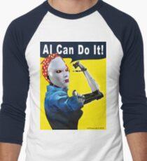 AI Can Do It Baseball ¾ Sleeve T-Shirt