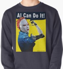 AI Can Do It Pullover Sweatshirt