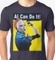 AI Can Do It Slim Fit T-Shirt