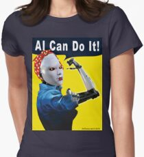 AI Can Do It Fitted T-Shirt