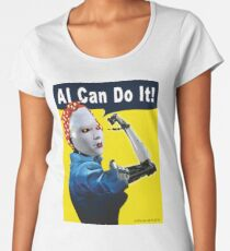 AI Can Do It Premium Scoop T-Shirt