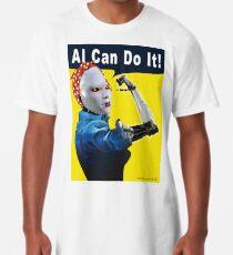 AI Can Do It Long T-Shirt