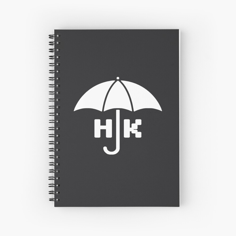 Hong Kong - White Spiral Notebook