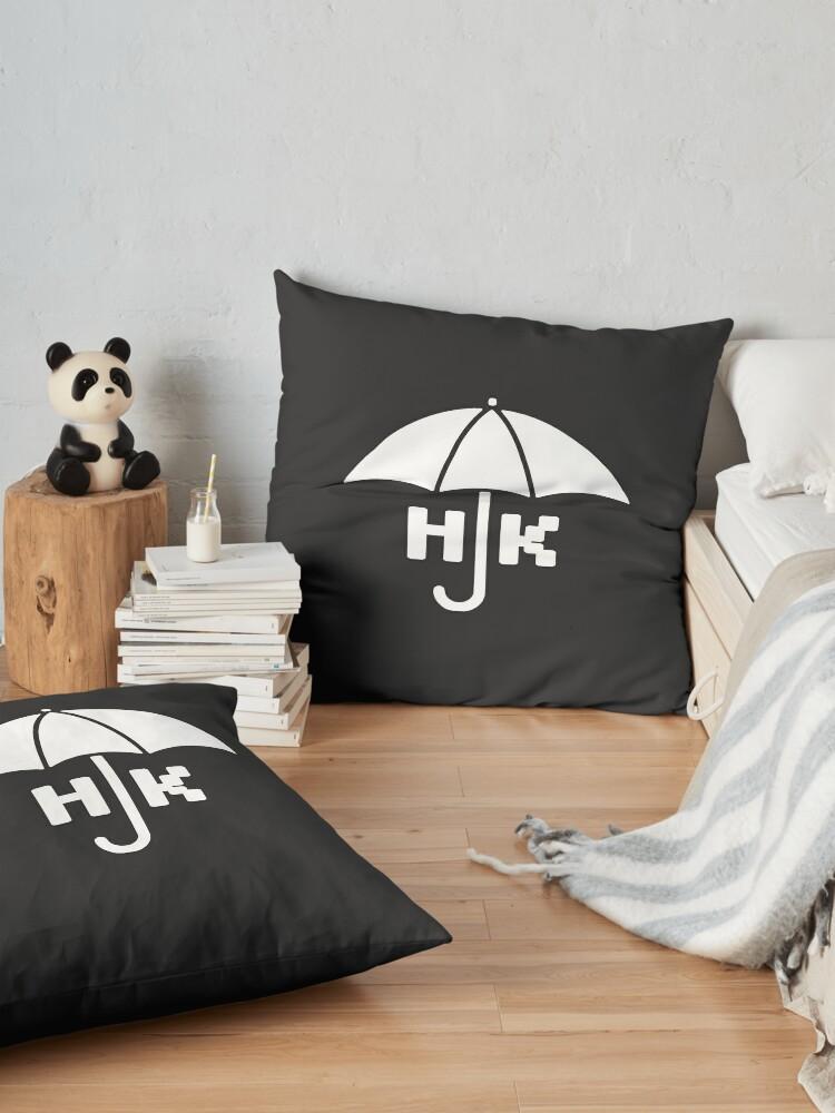Alternate view of Hong Kong - White Floor Pillow