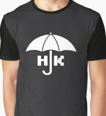 Hong Kong - White Graphic T-Shirt
