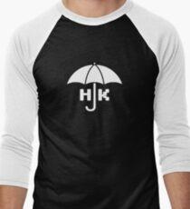 Hong Kong - White Baseball ¾ Sleeve T-Shirt