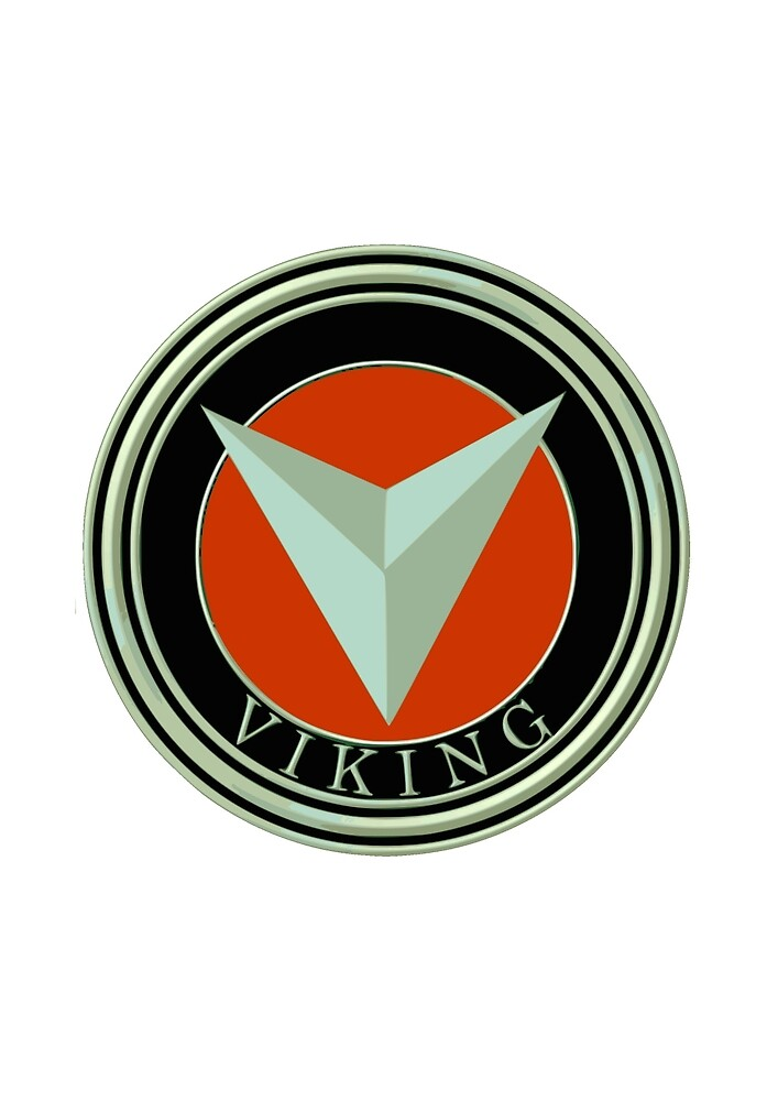 Classic Car Logos: Viking by brookestead