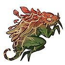 Overgrown beast by Laya Rose