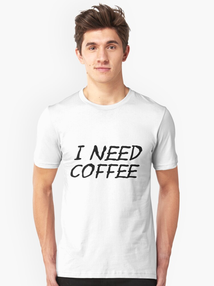Coffee Unisex T-Shirt Front