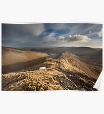 Riggindale & Rough Crags Poster