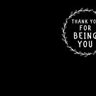 «Thank you for being you» de jazzydevil