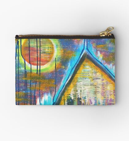 Mountain Home for the Heart: Inner Power Painting Studio Pouch