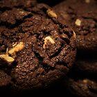 Double Chocolate Cookies Macro by Stephen Thomas