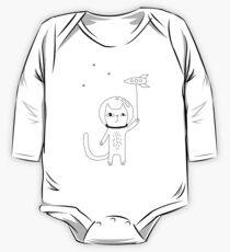 Space Cat One Piece - Long Sleeve