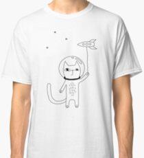 Camiseta clásica Space Cat
