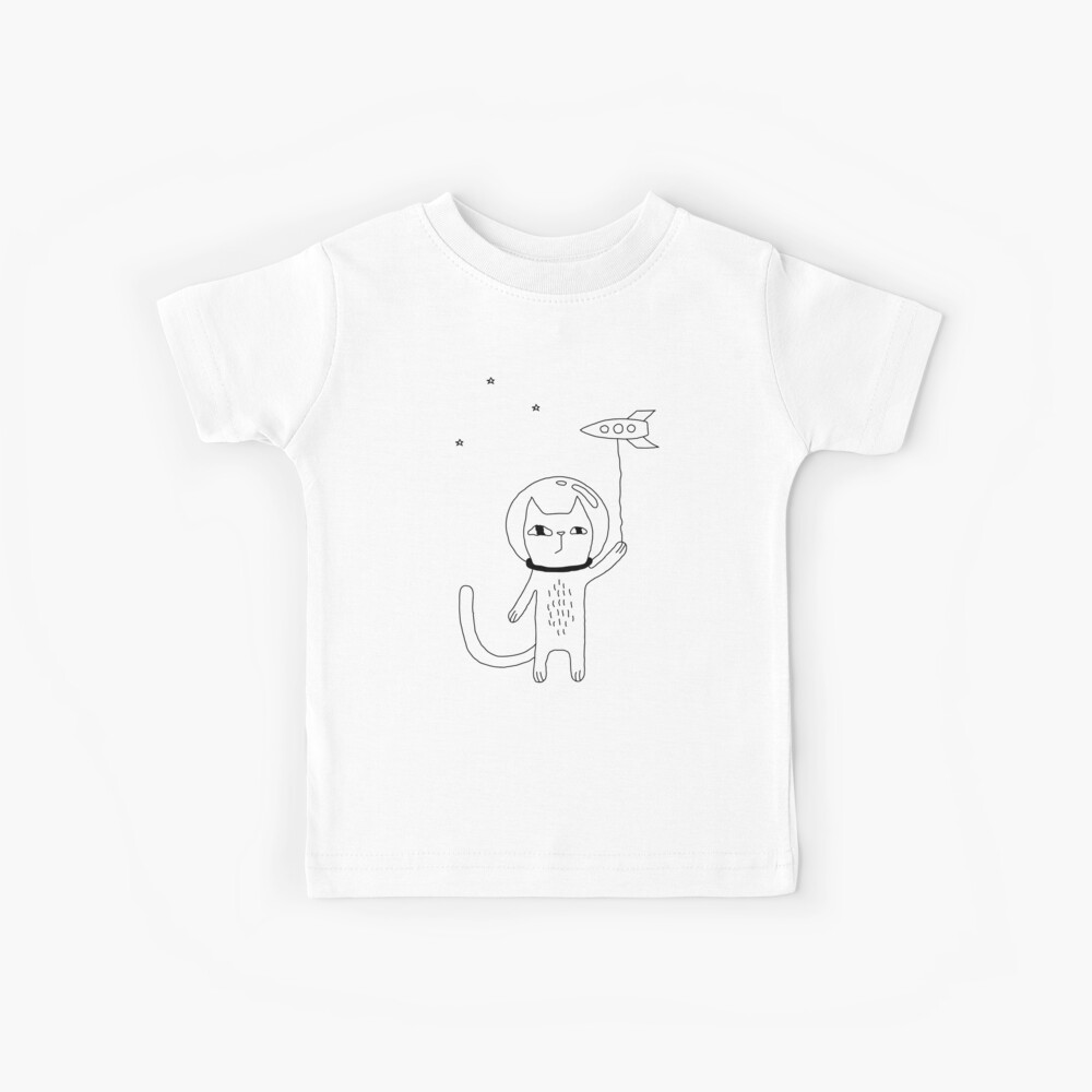 Space Cat Kids T-Shirt