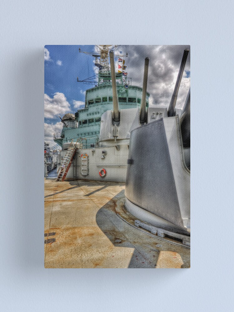 Alternate view of HMS Belfast Canvas Print