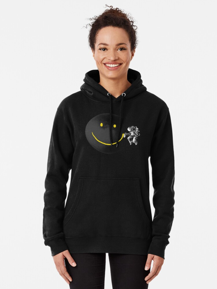 Alternate view of Make a Smile Pullover Hoodie