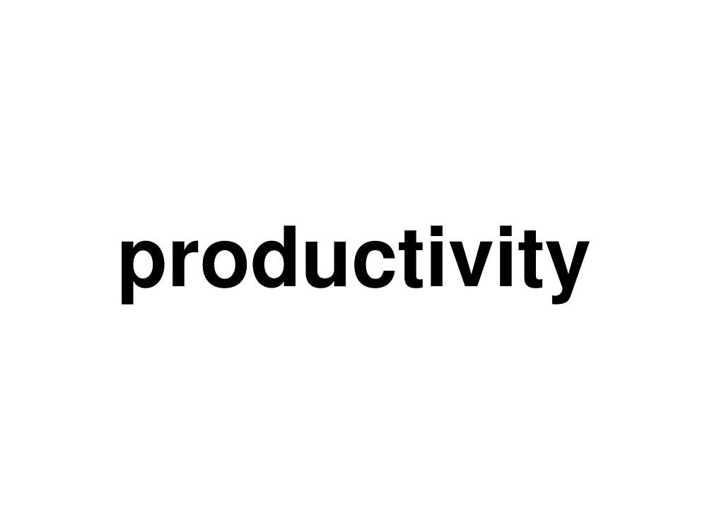 productivity by ninov94