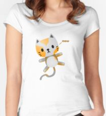 Kitten Juggling - Mew T-Shirt Women's Fitted Scoop T-Shirt