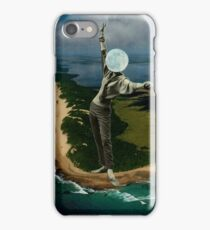 There's a moon out tonight iPhone Case/Skin