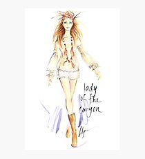 Lady Of The Canyon Photographic Print