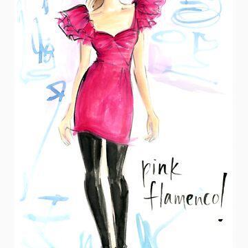 Pink Flamenco! by jenniferlilya