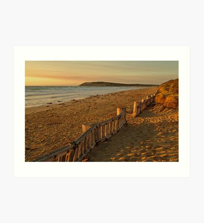 Sunrise Raafs Beach Art Print