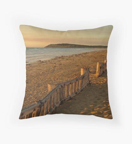 Sunrise Raafs Beach Throw Pillow
