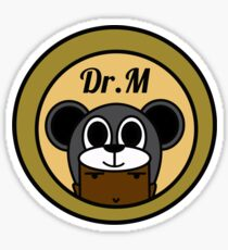 Dr.M Leanne The Cat  Sticker