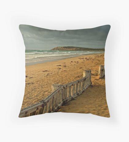 Morning Raafs Beach Throw Pillow